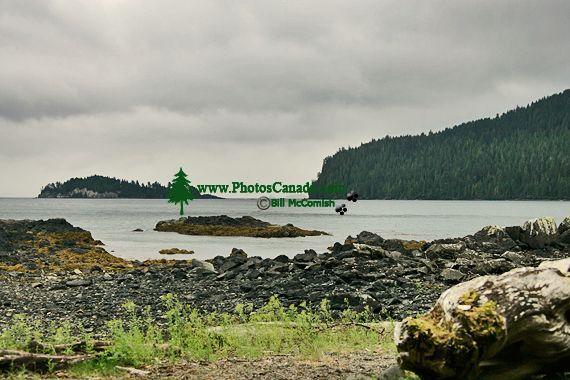 Tanu, T'aanuu Lnagaay, Laskeek Bay, Haida Heritage Site, Gwaii Haanas National Park,   British Columbia, Canada CM11-02
