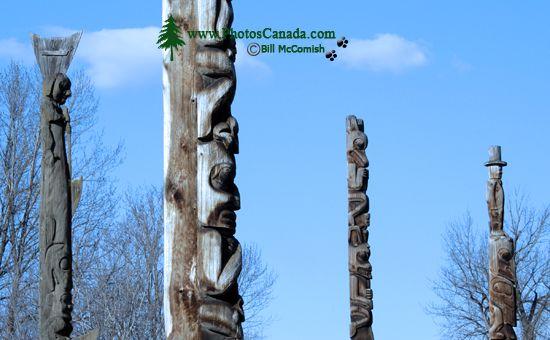 K'san Village Totems, The Hazeltons, British Columbia CM11-08