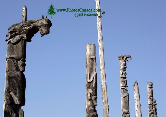 Kitwanga Totems, The Hazeltons, British Columbia CM11-02