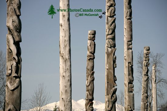 Kitwanga Totems, The Hazeltons, British Columbia CM11-03