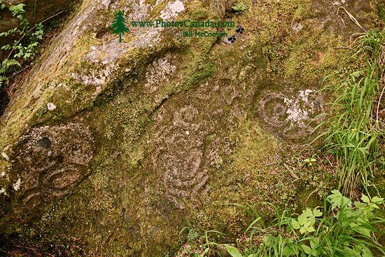 Thorsen Creek Petroglyphs, Bella Coola, British Columbia CM11-003