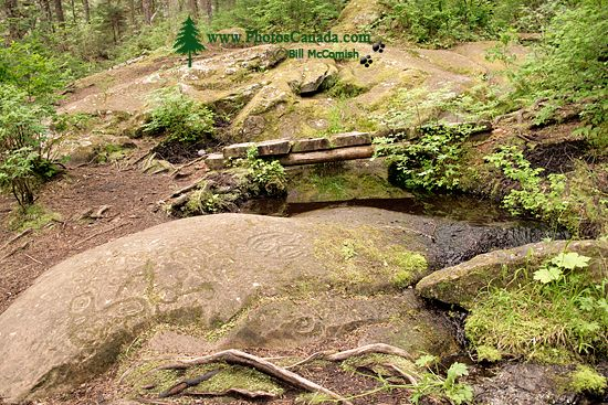 Thorsen Creek Petroglyphs, Bella Coola, British Columbia CM11-007