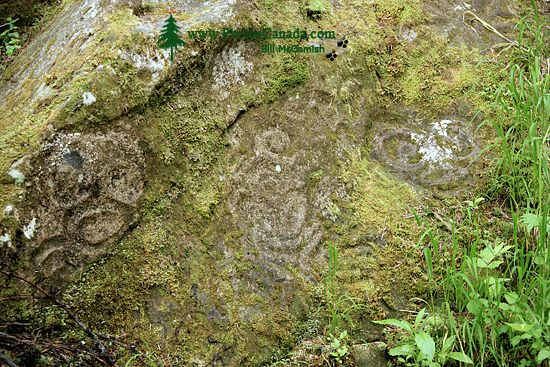 Thorsen Creek Petroglyphs, Bella Coola, British Columbia CM11-009