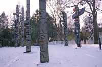 Thunderbird Park, Victoria, Vancouver Island, British Columbia, Canada CM11-04