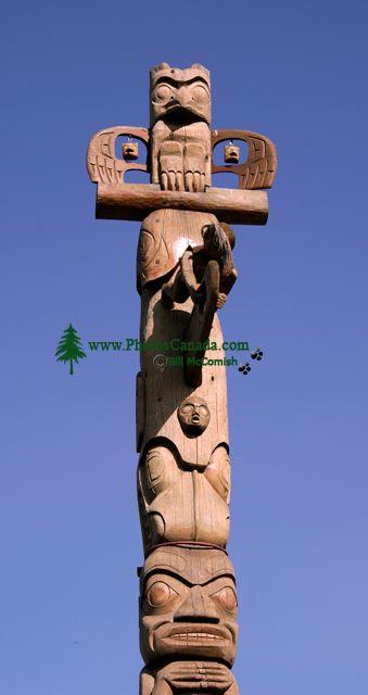 New Aiyansh Totem Poles, Nass Valley, Northern British Columbia, Canada CM11-05