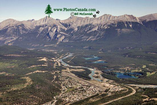 Town of Jasper, Athabasca River, Jasper National Park, Alberta CM11-03