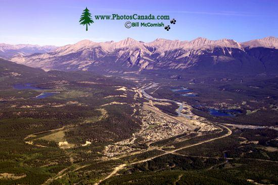 Town of Jasper, Athabasca River, Jasper National Park, Alberta CM11-04