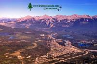 Highlight for Album: Town of Jasper Photos 2009, From Jasper Tramway, Alberta, Jasper National Park Stock Photos
