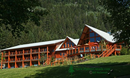 Tyax Lodge, Gold Bridge, British Columbia, Canada CMX-001 - TYAX LODGE IMAGES NOT FOR SALE