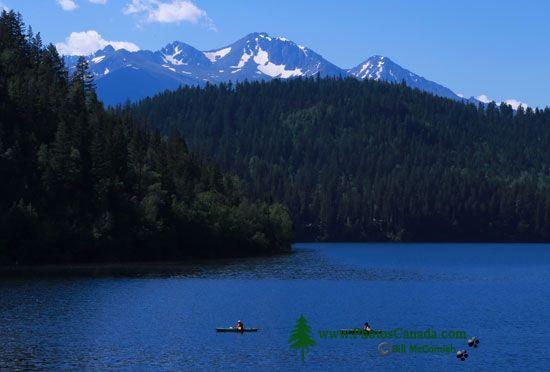 Tyaughton Lake,Tyax Lodge, Gold Bridge, British Columbia, Canada CMX-008