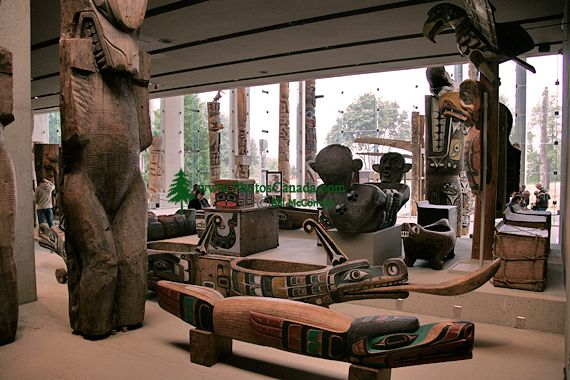 UBC Museum of Anthropology, British Columbia, Canada CM11-10  (Photo Not For Sale)