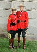 Vancouver 2010, RCMP, Robson Square, British Columbia, Canada CM11-12