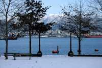 Vancouver, Coal Harbour, December 2008, British Columbia, Canada CM11-40