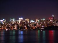 Vancouver Night, Skyline, British Columbia, Canada  07