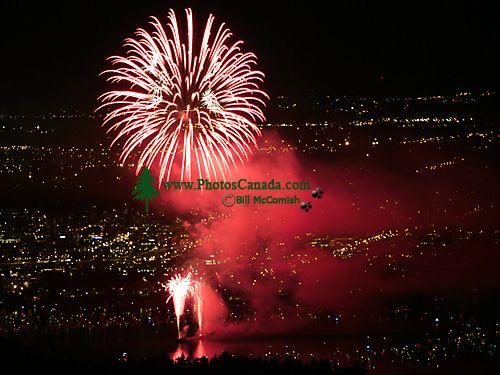 Vancouver Celebration of Light International Fireworks Competition, China Display, August 1, 2007 CM11-04
