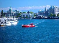 Victoria, Inner Harbour,  British Columbia, Canada 01