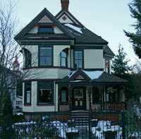 Victoria, Historic Home,  British Columbia, Canada CM11-05