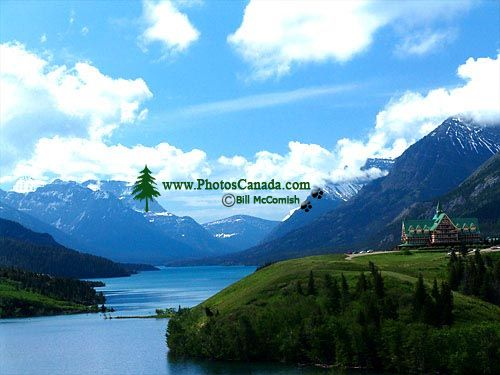 Prince of Wales Lodge, Waterton Lake, Waterton Lakes National Park, Alberta, Canada 01