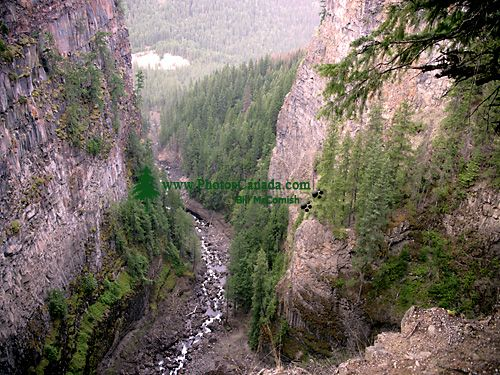 Spahats Creek Canyon, Wells Gray Park, British Columbia, Canada CM11-04
