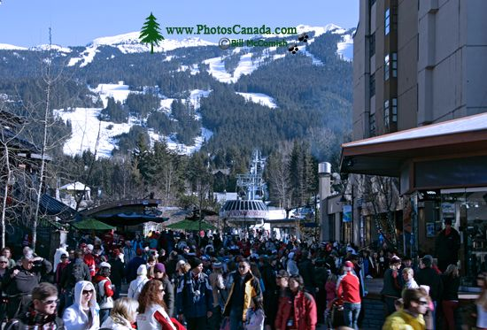 Whistler Village 2010 Olympics, British Columbia, Canada CM11-01