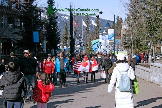Whistler Village 2010 Olympics, British Columbia, Canada CM11-07