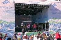 Whistler Village Concert, 2010 Olympics, British Columbia, Canada CM11-02
