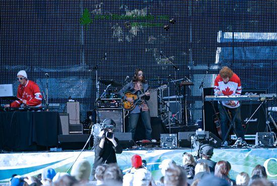 Whistler Village Concert, 2010 Olympics, British Columbia, Canada CM11-03