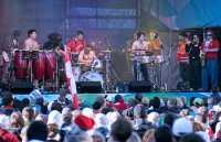 Whistler Village Concert. 2010 Olympics,  British Columbia, Canada CM11-15