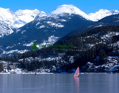 Ice Sailing, Green Lake, Whistler, British Columbia, Canada 05
