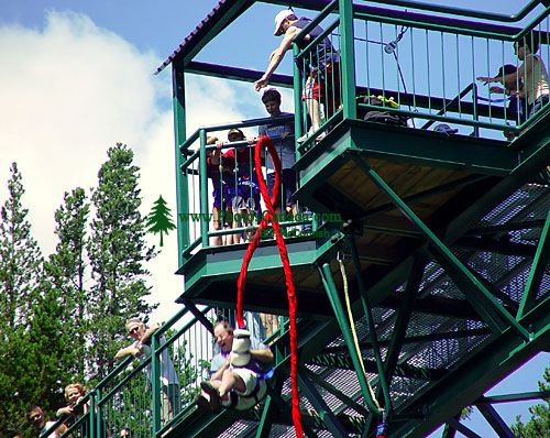 Bungee Jump, Whistler, British Columbia, Canada 01