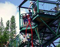 Bungee Jump, Whistler, British Columbia, Canada 01