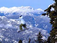 Snowboarder, Whistler, British Columbia, Canada 04