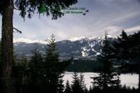 Highlight for Album: Whistler and Blackcomb Photos, Winter 2009, British Columbia Stock Photos