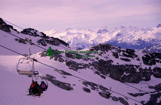 Whistler, Glacier Chairlift, British Columbia, Canada CM11-001