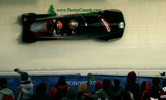 Whistler 2010 Olympics Sliding Centre, Austria Bobsled, British Columbia, Canada CM11-09