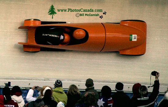 Whistler 2010 Olympics Sliding Centre, Holland Bobsled, British Columbia, Canada CM11-07
