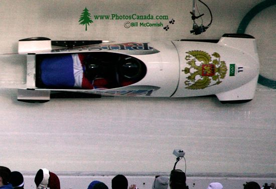 Whistler 2010 Olympics Sliding Centre, Russia Bobsled, British Columbia, Canada CM11-03
