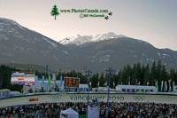 Highlight for Album: Whistler Sliding Centre Photos, 2010 Olympic Stock Photos