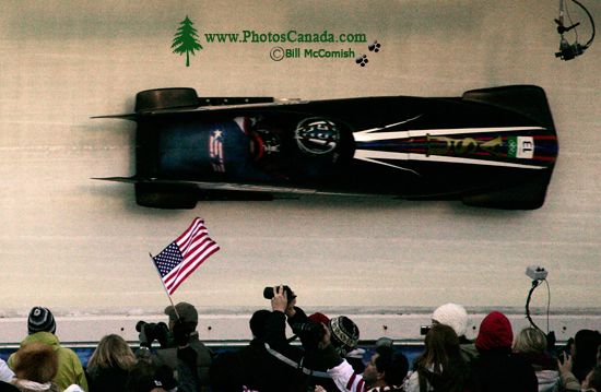 Whistler 2010 Olympics Sliding Centre, USA Bobsled, British Columbia, Canada CM11-04