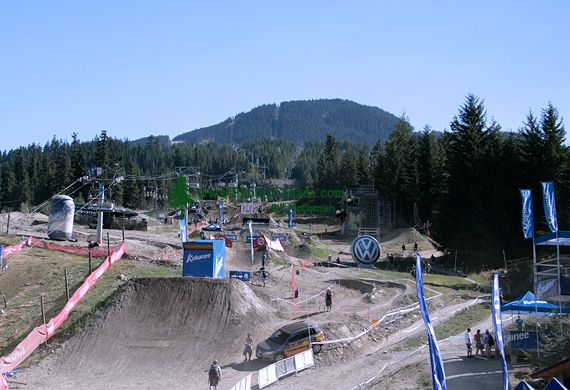 whistler Bike Park, 2010 Olympic Host City, British Columbia, Canada CM11-001