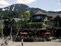 Highlight for Album: Whistler Village Photos, British Columbia, Canada Stock Photos, Host City of the XXI Olympic Winter Games and Paralympic Games in 2010