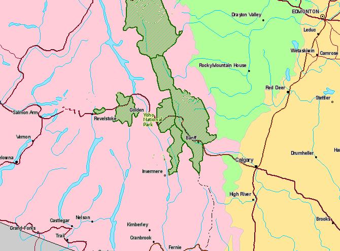 PhotosCanadacom Gallery Yoho National Park Of Canada Photos - Where is canada located