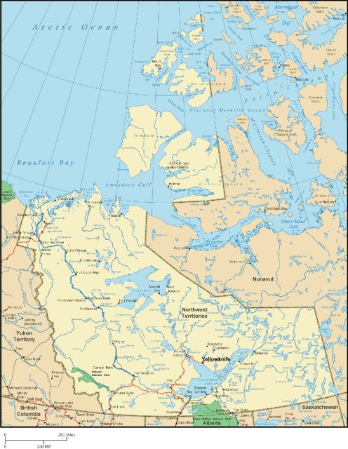 Map Of Canada Yellowknife.Photoscanada Com Gallery Northwest Territories Photos Stock